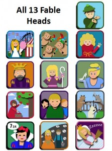 13Fableheads